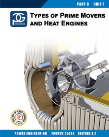 4th Class eBook BU07 - Types of Prime Movers and Heat Engines (Ed 3.5)