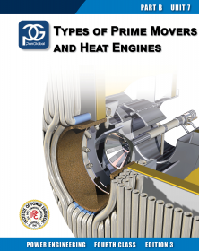 4th Class eBook BU07 - Types of Prime Movers and Heat Engines (Ed 3.0)